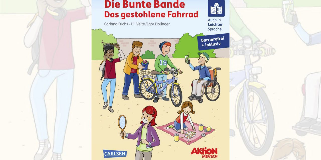 Buchtipp: Die bunte Bande – das gestohlene Fahrrad