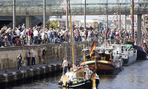 Großes Hallo für kleine Schiffe – die Schippertage 2019