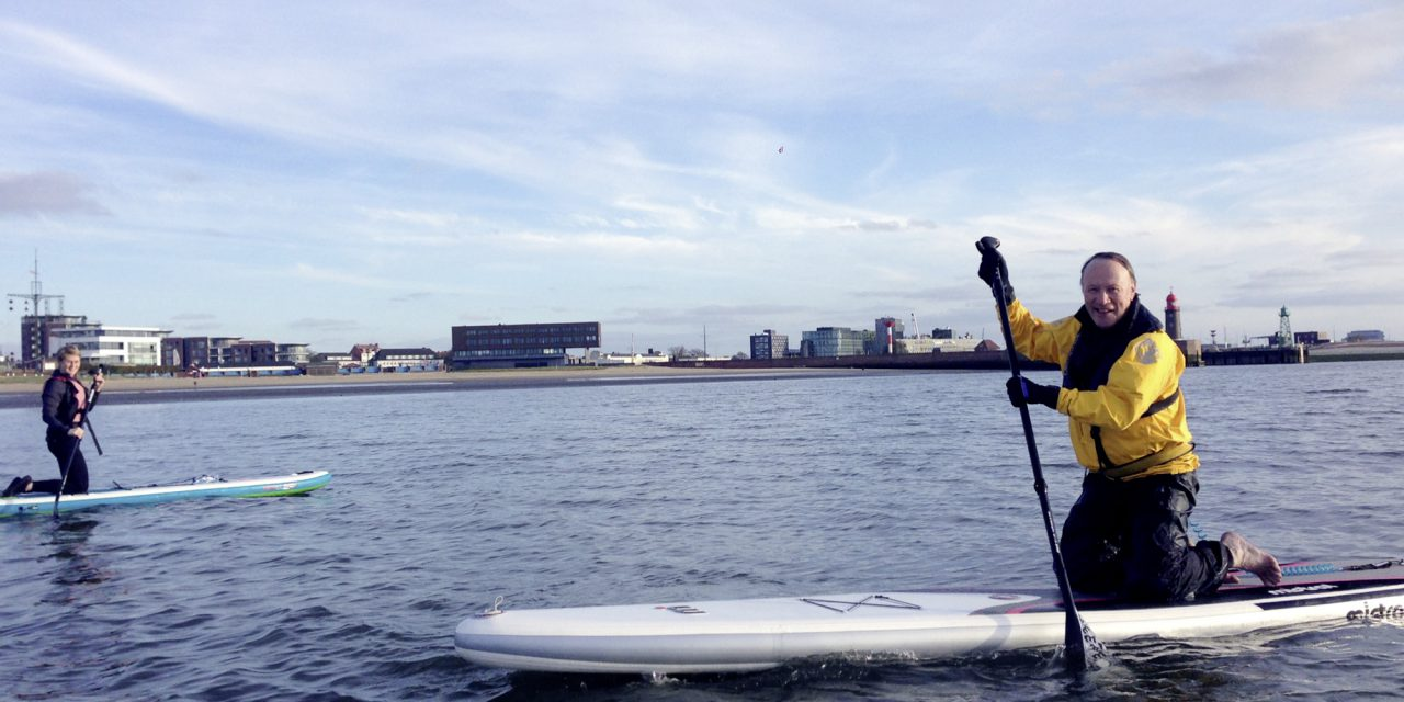 Rock The Board – Stand up Paddling in Bremerhaven