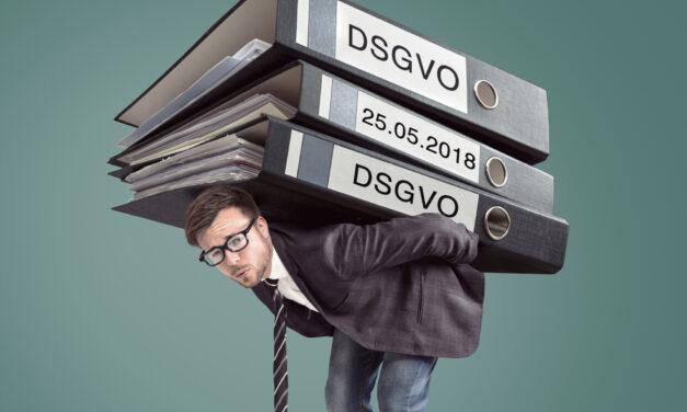 Regelungswahnsinn – DSGVO sorgt im Mittelstand für Angst und Schrecken