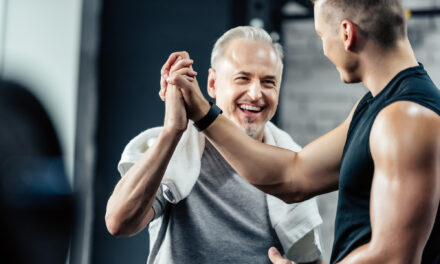 Wer seinen Körper trainiert, bleibt länger gesund