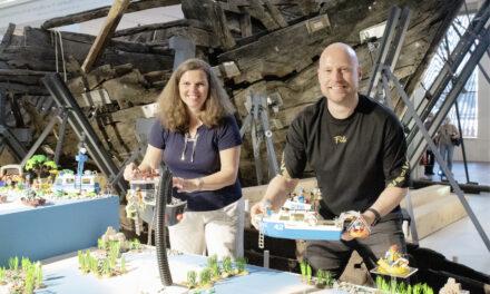 Kogge trifft Playmobil