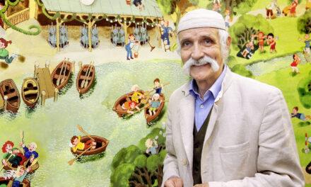 Vater der Wimmelbücher – Der Autor Ali Mitgusch