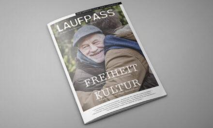 Lockdown-bedingt erscheint der LAUFPASS 04/2020 Anfang Dezember!