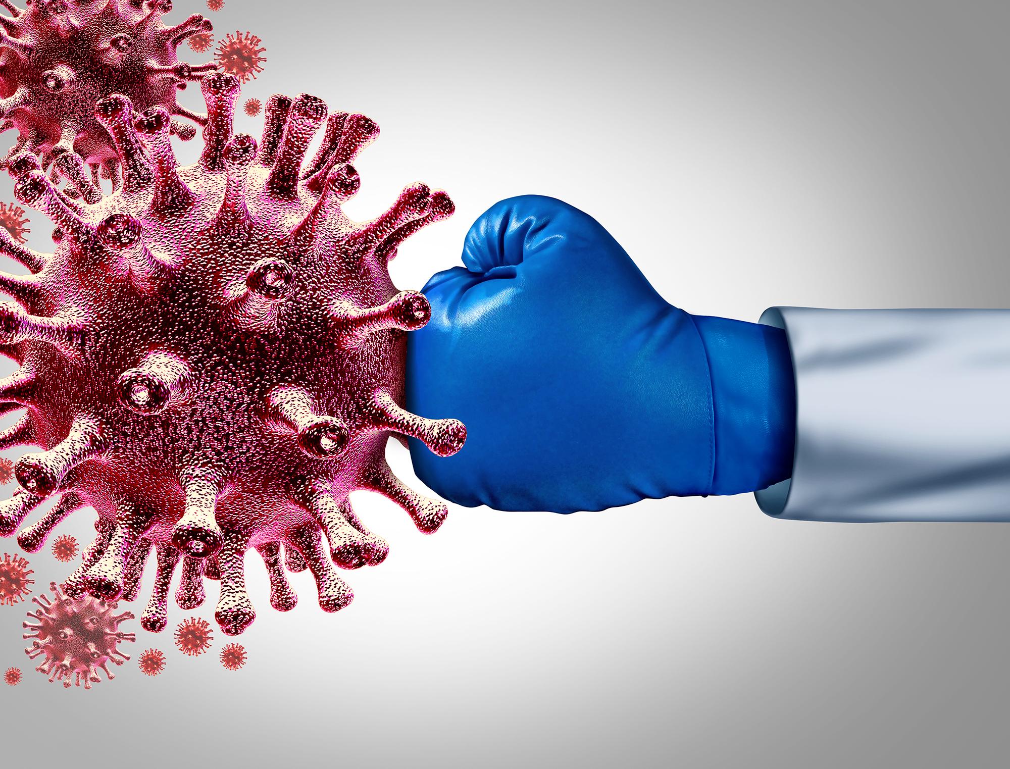 SARS-CoV-2: Die natürliche Immunität bleibt erhalten