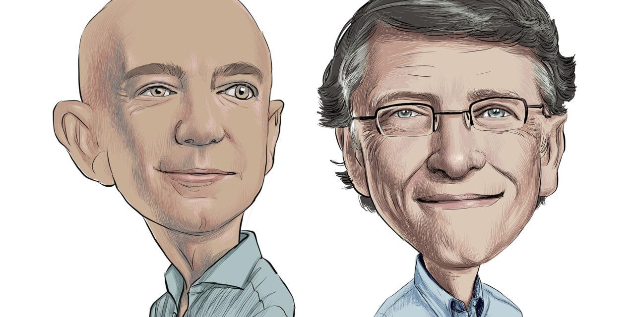 Die ewige Krise – Bezos, Gates und ihre Macht über die Medien